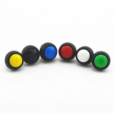 6pcs 12mm Waterproof 2 Pin Momentary Each Color Push Button Horn Switch