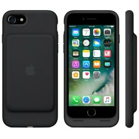 Apple Smart Battery Elastomer Silicone Back Cover Case for iPhone 7 - Black