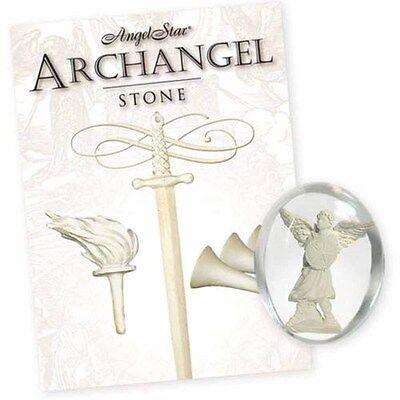 Archangel Michael Angel Pocket Stone (17153)  by AngelStar NEW