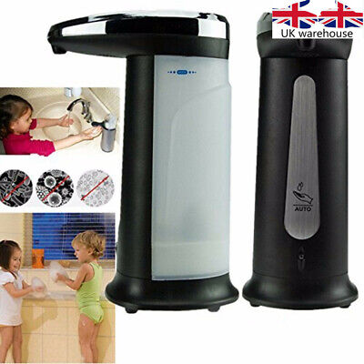 New 400ml Electroplated Automatic Soap Dispenser Touchless Sanitizer Dispenser