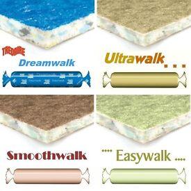 underlay 2 new pieces dreamwalk & tread air 11 mm thick