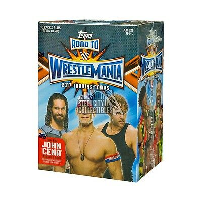 2017 Topps WWE Road to Wrestlemania Wrestling Blaster Box
