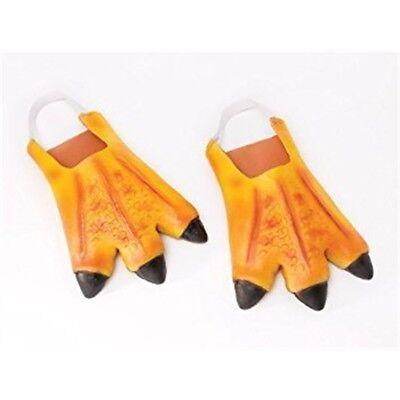 Chicken Feet Slippers (Bristol Novelty Ba049 Chicken Feet, One Size - Feet Fancy Dress Accessory)