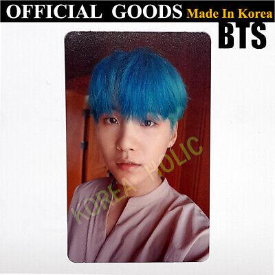 BTS Love Yourself SUGA Photocard OFFICIAL GOODS Bangtan Boys Photo Card K-Pop