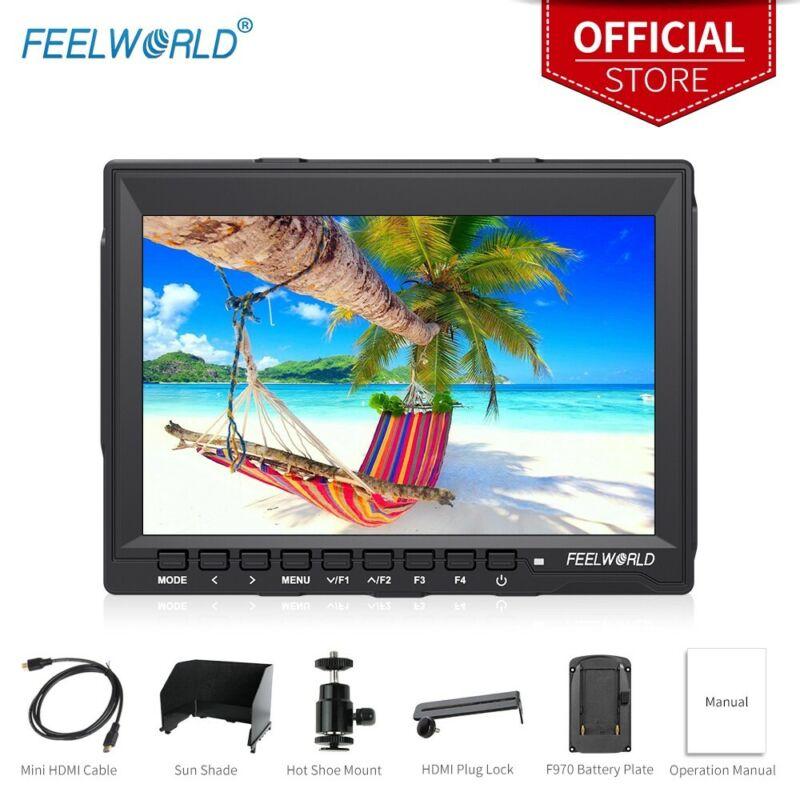 FEELWORLD DSLR Field Monitor 4K HDMI Input 7 Inch LCD IPS HD 1280x800 Display