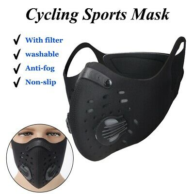 4 PCS Workout Sports Mask High Altitude Elevation Effect Face Mask Endurance Gym