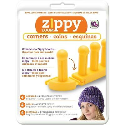 KB Authentic Kitting Board Zippy Loom Corners (4 corners per package) KB6610