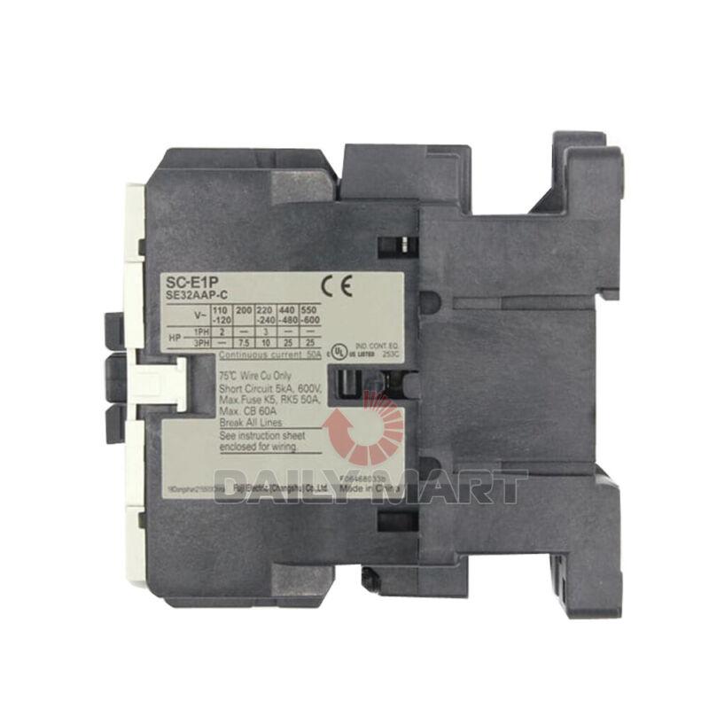 New In Box FUJI ELECTRIC SC-E1P 220V Magnetic Contactor