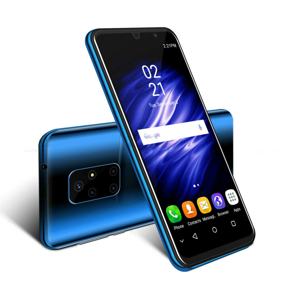Android Phone - NEW 8G+512g Large Screen Android 9 Factory Unlocked 4Core Mobile Smart Phone A+