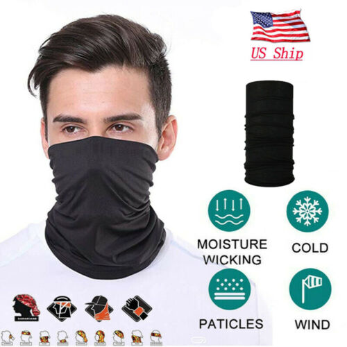 Unisex Head Face Neck Tube Bandana Gaiter Scarf Beanie Dustproof Outdoor Clothing, Shoes & Accessories