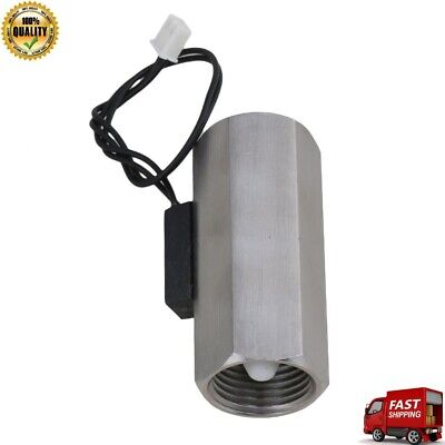 Water Flow Switch Magnetic Stainless Steel Water Sensor Color Chrome Sus 304 New
