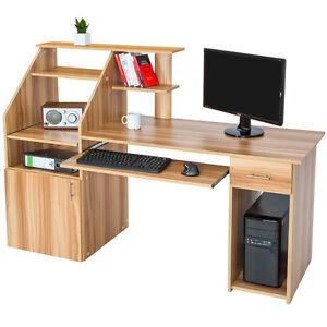 flat pack desk ebay. Black Bedroom Furniture Sets. Home Design Ideas