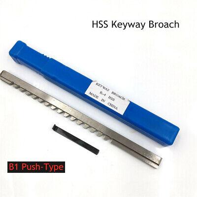 Keyway Broach 4mm B Push Type Cutter Involute Spline Machine Cnc Cutting Tool