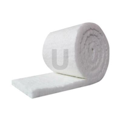 Unitherm Ceramic Fiber Insulation Blanket Roll Thermal Shock Resistance 2x24x50