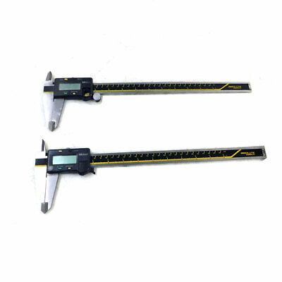 Lot Of 2 Mitutoyo Cd-12cp Absolute Digimatic Digital Calipers 300mm12 Range