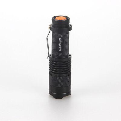 Portable MINI violet UV 3W LED 395nm Lamp Flashlight AA/14500 Torch BEST GIFT
