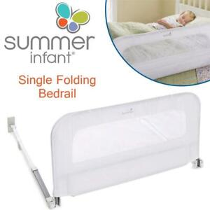 Summer Infant Single Folding Bedrail, White Condtion: Lightly used