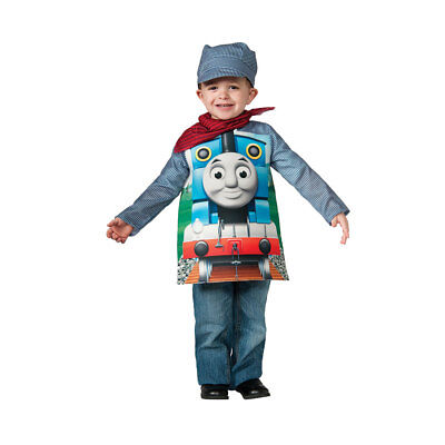 Toddler Deluxe Thomas The Train Engineeer Halloween Costume - Thomas The Train Halloween Costumes