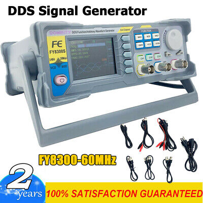 Fy8300-60mhz Function Arbitrary Waveform Pulse Dds Signal Generator 3 Channel Us