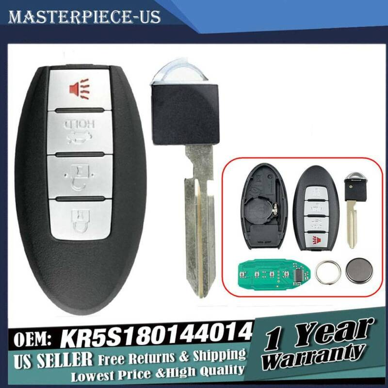 Replacement For 2013 2014 2015 Nissan Altima Key Fob