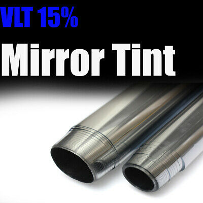 Uncut One Way Mirror Silver Tint Reflect Anti UV Heat 24