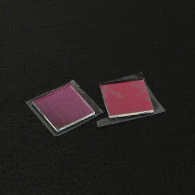 2pcs 9.5x9.5x1.1mm 532nm Laser High Transmittance Infra-red Ir Filter Lens