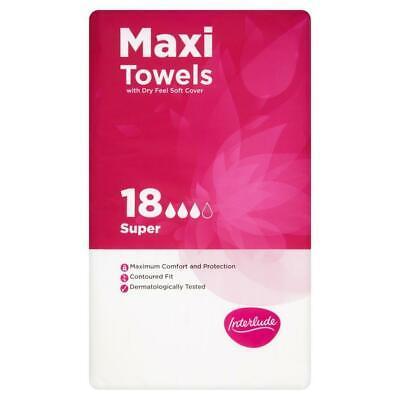 Interlude Maxi Towels 2pk