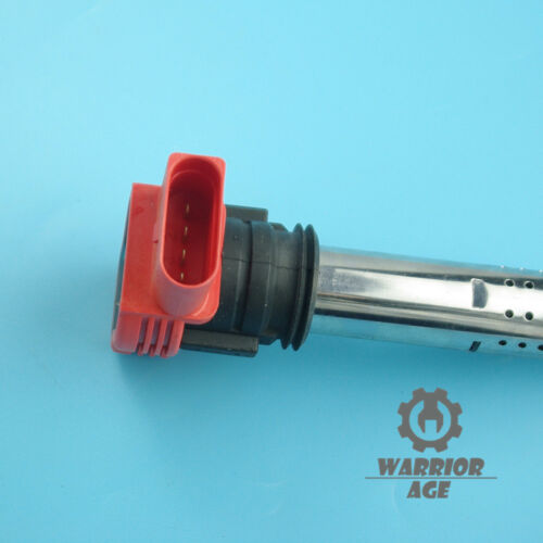 For Audi A4 A5 A6 Quattro S5 S6 VW Touareg Ignition Coil w// Spark Plug Connector