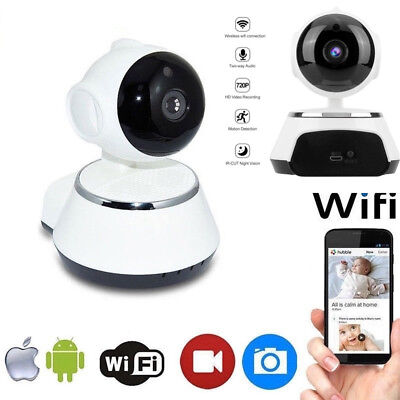 New Video 720P Full HD Wireless Wifi IP Camera Webcam Baby Monitor CAM Pan Tilt