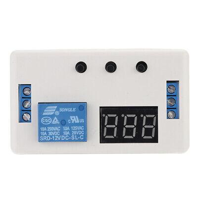 Dc 12v Adjustable Delay Turn Off Switch Timer Relay Module Digital Display G2i3