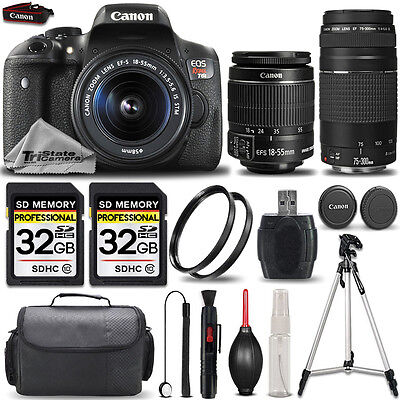 Canon EOS 750D - Rebel T6i from eBay