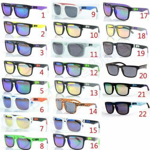 Outdoor Sport Fashion Unisex retrò Ken Block bicicletta occhiali da sole #zz