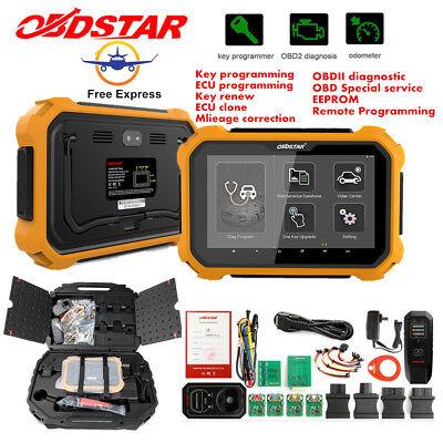OBD2 Scanner Immobilizer Mileage Correction Key ECU Programming X300 DP Plus Kit