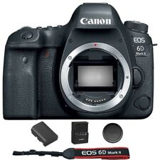 Canon EOS 6D Mark II / MK 2 Digital SLR Camera (Body) Brand New