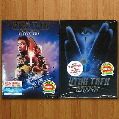 Star Trek Discovery: Season 1 & 2 One Two (DVD) Free Shipping US RG1