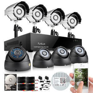 Funlux-8-Channel-HDMI-DVR-Outdoor-Home-Surveillance-Security-Camera-System-500G
