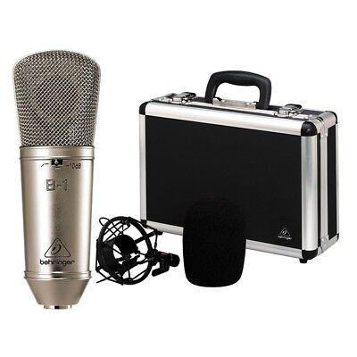 BEHRINGER B-1 Microfono a Condensatore Cardioide Dj Live Speaker Karaoke NUOVO