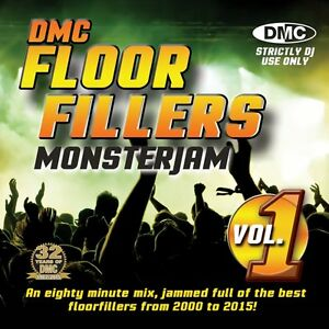 dmc floorfillers monsterjam 2000 2015 party dj cd mixed by