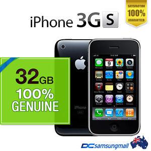 Apple 100 New Genuine iPhone 3GS 32GB Black Unlocked ...