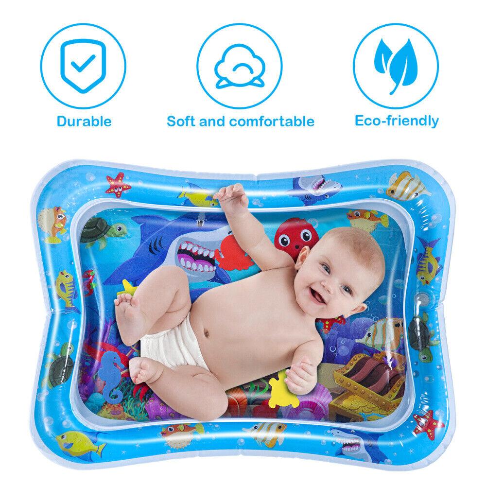 Baby Kinder Wassermatte Aufblasbare Patted Kissen Pads Spielzeug Wasserspielzeug