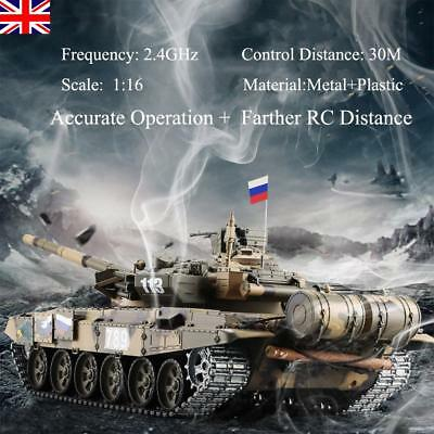 HengLong 1/16 Upgraded Russian T90 RC Tank Tracks Sprockets 3938 RTR Sound Toys