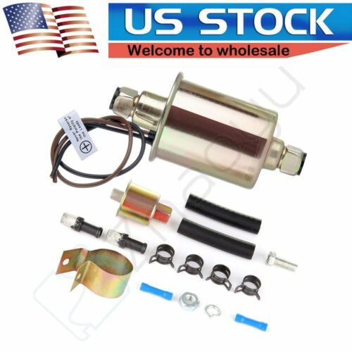 New E8012S 12V Universal Low Pressure Electric Fuel Pump Kit