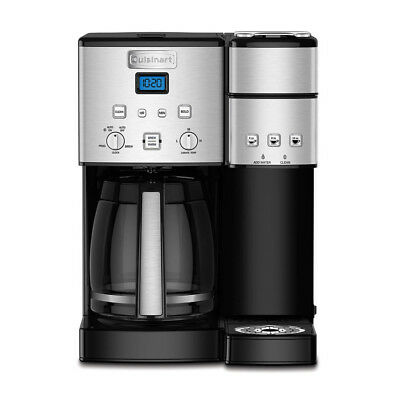 Cuisinart SS-15 12-Cup Coffee Maker and Unique-Serve Brewer, Stainless Steel
