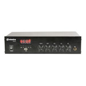 Adastra DM40 Digital 100V Mixer Amplifier 40W Bluetooth USB Speaker System PA