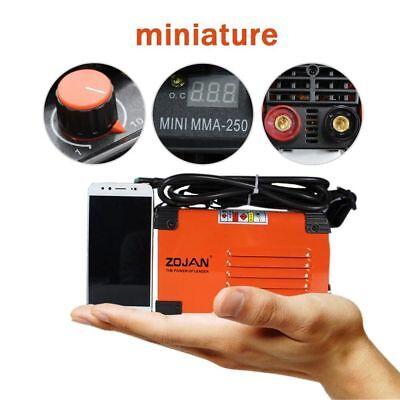 Handheld Mini Mma Electric Welder 220v 20-250a Inverter Arc Welding Machine Tool