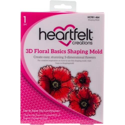 Heartfelt Creations ~ 3D FLORAL BASICS SHAPING MOLD ~ HCFB1-464