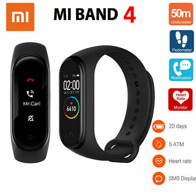 Xiaomi Mi Smart Band 4 Global Version-Negro Android/iOS