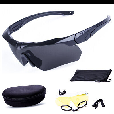 Tactical Polarized sunglasses Military glasses paintball shooting -