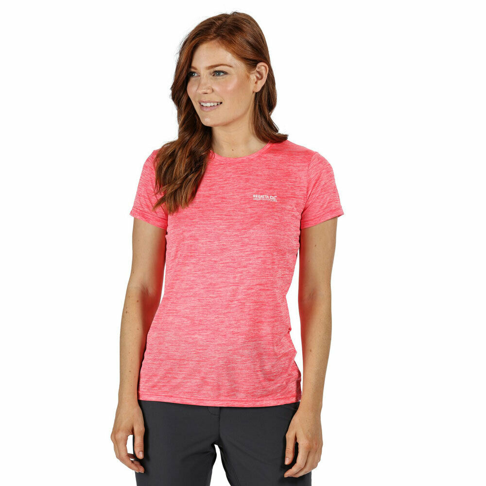 Regatta FINGAL V T-SHIRT DamenLaufshirt Fitness Shirt Trainings Shirt RWT204
