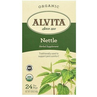 Alvita Organic Nettle Leaf Tea Bags 24 ea